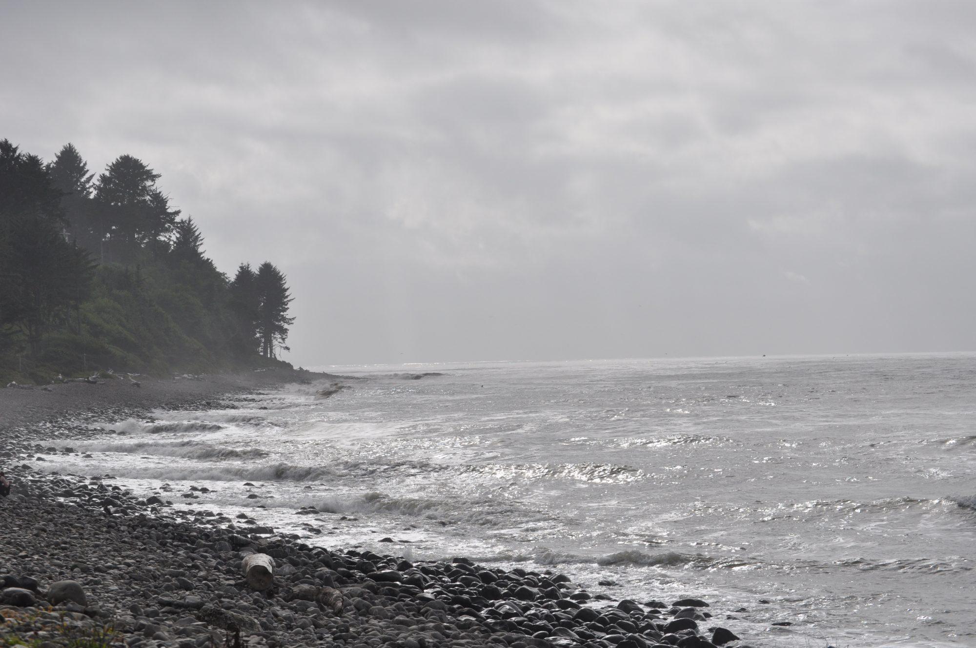 Tillamook Head sits adjacent to Seaside's,