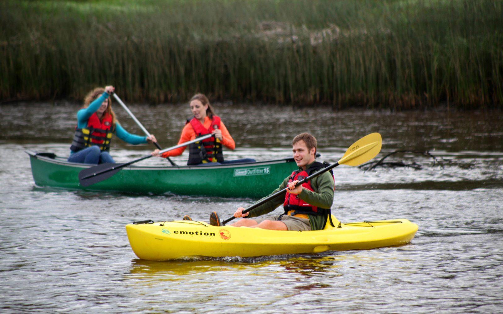Paddle Neawanna Creek
