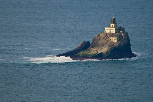 Views of Tillamook Rock Lighthouse are well within your reach thanks to the adventure of the Tillamook Head Trail just south of Seaside.
