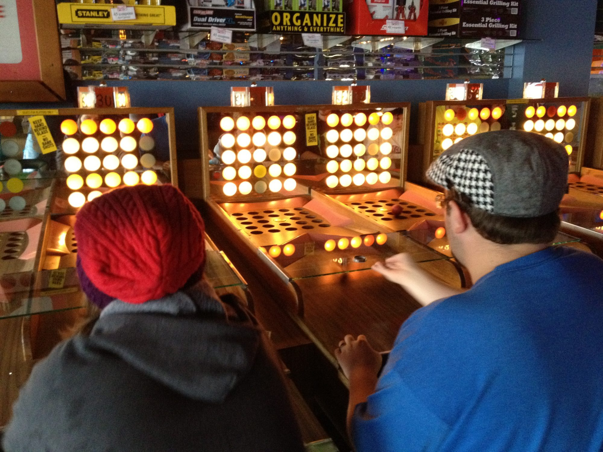 Fascination at Funland Arcade