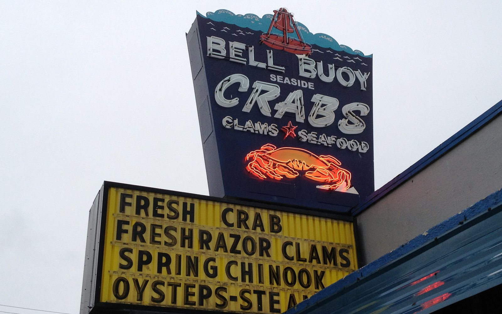 Bell Buoy Of Seaside Offers Fresh Seafood And Features Ready To Eat Items In
